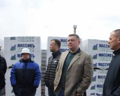 Вице-премьер Крыма Евгений Кабанов остался доволен темпом строительства детсадов в Симферополе