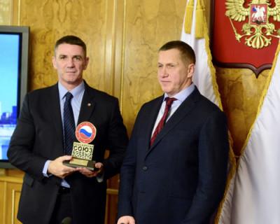 Севастопольские единоборцы поздравляют Юрия Трутнева с днем рождения!