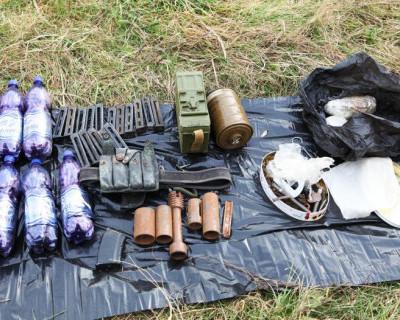 Под Ялтой ФСБ изъяло два схрона с оружием для «Правого сектора»