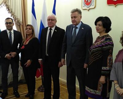 Крым посетила делегация из Италии