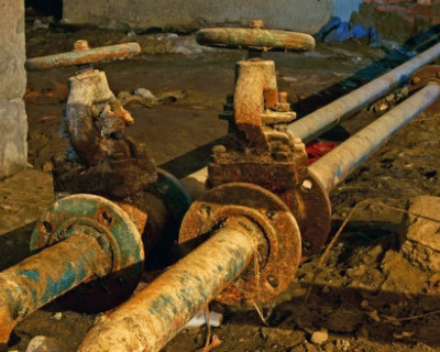 В Крыму изношенность водопроводных труб составляет 75%