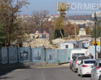 Как прошла «инспекция» работ на Матросском бульваре в Севастополе