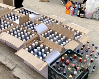 В Крыму изъяли большую партию контрафактного алкоголя
