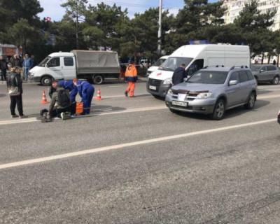 В Севастополе сбили девушку-подростка