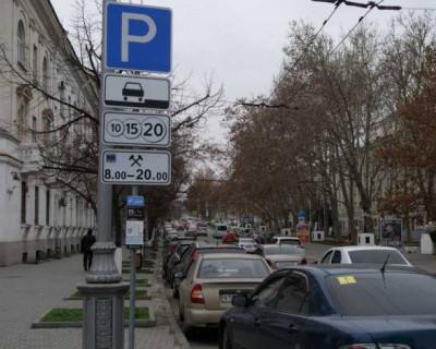 Врио губернатора Севастополя напомнил о долгах за парковки