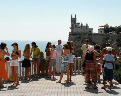 Число туристов в Крыму выросло на 12%