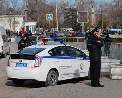 В Крыму полицейские открыли огонь по удирающей от них «Ауди»