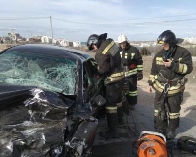 В ДТП в Севастополе пострадали водители (ФОТО)