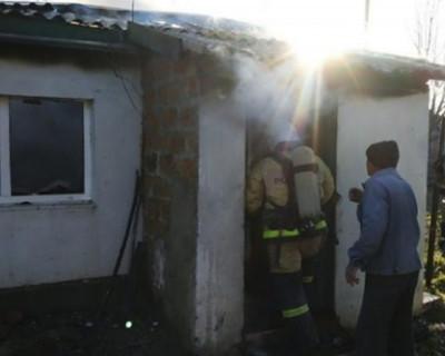 За сутки в Крыму погибло два человека во время пожаров
