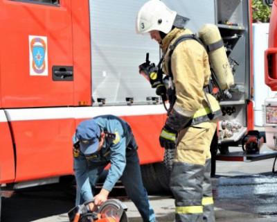 Во время пожара в Симферополе погибли четыре человека