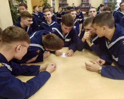 Севастопольские кадеты сыграли в «Что? Где? Когда?»