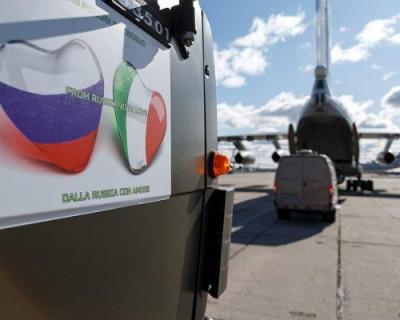 Жители Италии благодарят Россию за помощь в борьбе с пандемией коронавируса (ВИДЕО)