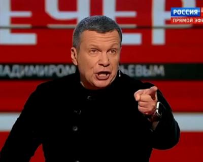 Российский телеведущий Соловьев крымчанам: «С чего вы охренели?»