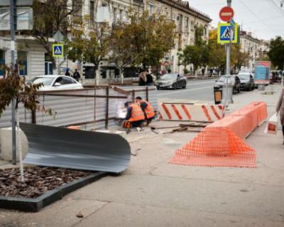 Проект реконструкции улицы Большая Морская был изменен на 40%