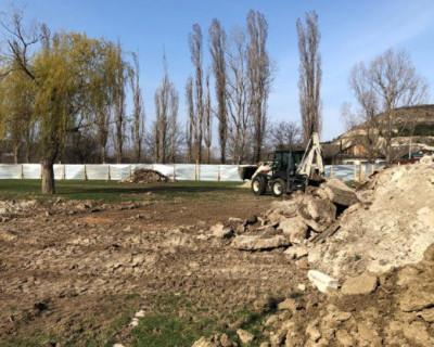 В сельской зоне Севастополя началось строительство физкультурно-оздоровительного комплекса
