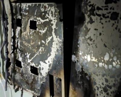 В Алуште загорелся многоквартирный дом