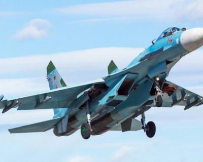 В Черном море продолжаются поиски пилота Су-27