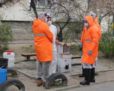 В Севастополе продолжается дезинфекция общественных пространств