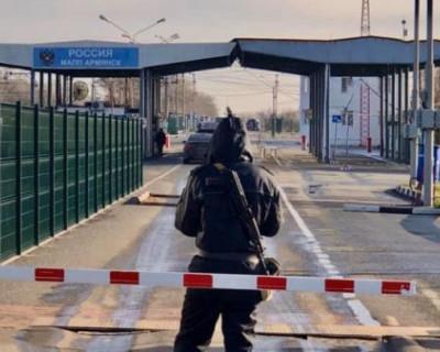 Трое крымчан попытались сбежать из карантина на Украину