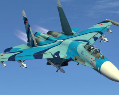 В Черном море прекратили поиски разбившего российского истребителя