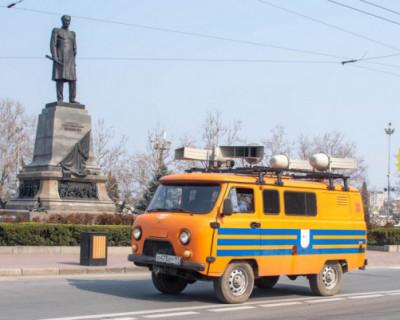 Оставайтесь дома! В Севастополе работает передвижная система оповещения