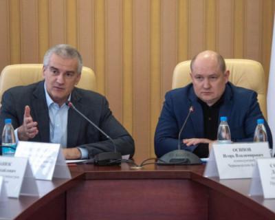 Севастополь и Крым провели совещание двух оперативных штабов по противодействию коронавирусу