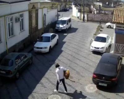 Крымчанин вышел на прогулку с тигром (ВИДЕО)