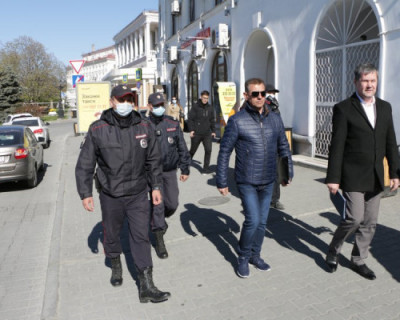 В Севастополе начали штрафовать за нарушение режима самоизоляции