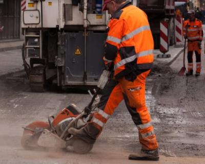 В Севастополе начали ремонт дорог, ведущих к больницам