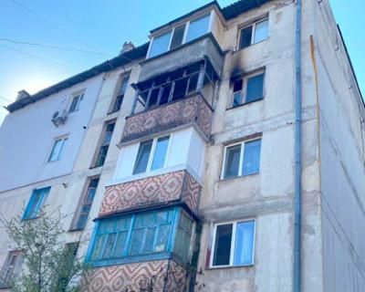 Во время пожара в Симферопольском районе погибла семейная пара
