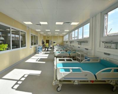 Как выглядит новейшая «коронавирусная» больница в Новой Москве (ФОТО, ВИДЕО)