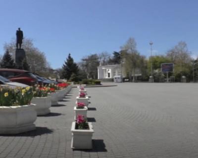 Пустынный Севастополь захватили» коты и цветы. Самоизоляция. Апрель 2020 года (ВИДЕО)