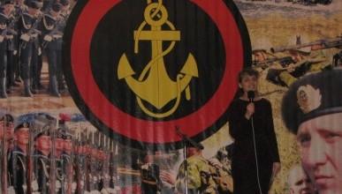Праздничные мероприятия ко Дню Защитника Отечества. Морская пехота В/Ч 13140 (фото)