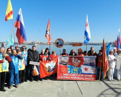 Партия Единая Россия в Севастополе наградила участников Международного слета моржей