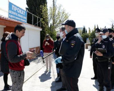 В Севастополе составлено 413 протоколов за нарушение самоизоляции