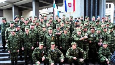 Год назад, 23 февраля, было создано Народное Ополчение Крыма