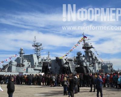 Боевые корабли Черноморского Флота Российской Федерации открыты для посещения! (фото)