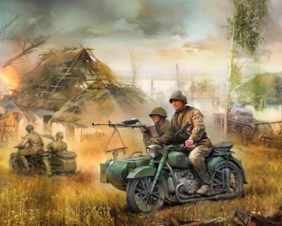 «Мотоспецназ» Сталина во время Великой Отечественной войны
