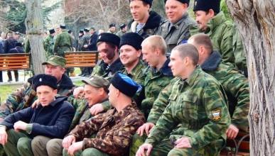 Награждение участников Самообороны Севастополя (фото, видео)