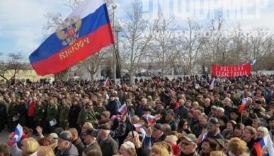 Возложение венков к вечному огню и начало торжественного празднования Дня защитника Отечества в Севастополе (фото, видео)
