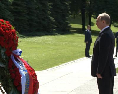 Владимир Путин поздравит россиян с 9 мая в прямом эфире