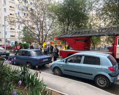 В Севастополе сгорела стиральная машинка. Эвакуированы 80 человек