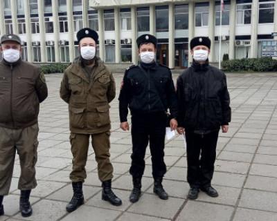 Как крымские казаки нарушителей карантина ловят (ВИДЕО)