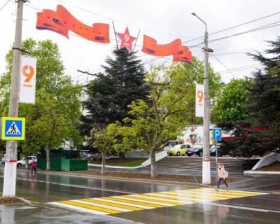 В Севастополе завершено благоустройство проспекта Победы