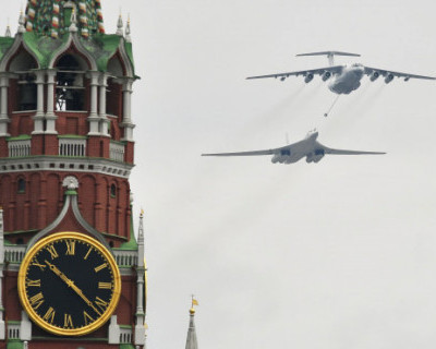 В Москве прошел авиапарад, посвященный 75-летию Победы (ВИДЕО)