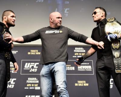 Глава UFC признал вину за несостоявшийся бой Нурмагомедова и Фергюсона