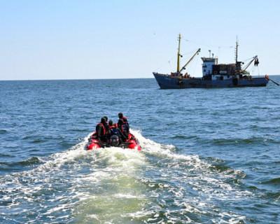 Пограничники Крыма поймали браконьеров