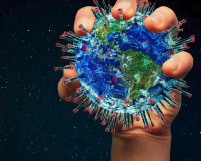 Российская студия показала 3D-модель коронавируса (ВИДЕО)