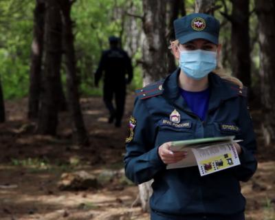 Спасатели Севастополя ежедневно ловят нарушителей на земле и с воздуха