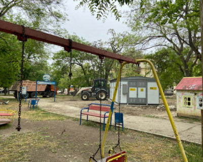 Трансформация детского парка в Севастополе в электроподстанцию